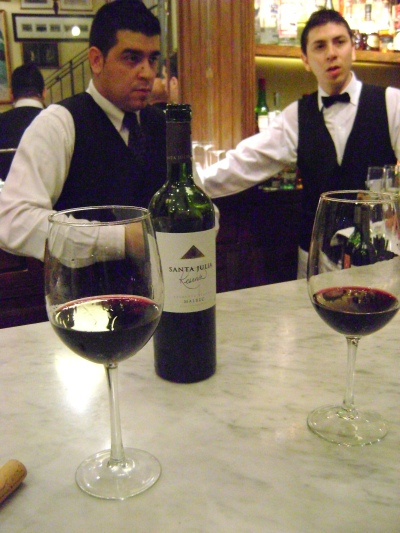 Fine Malbec in Buenos Aires, Argentina